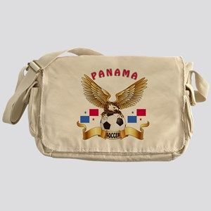 Panama Football Design Messenger Bag